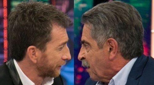 El tenso encuentro de Pablo Motos y Miguel Ángel Revilla en 'El Hormiguero': 'Me has dado la mano como si oliese mal'