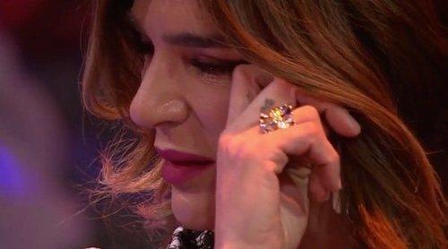 Raquel Bollo termina llorando tras hablar de su problema con María Patiño