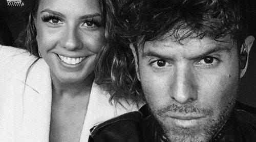 Pablo López 'desmiente' su relación con Miriam Rodríguez con un beso con David Bustamante