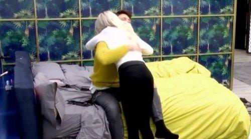 Ylenia y Fede sellan su tregua en 'GH DÚO' con un abrazo: 'Tenemos que intentar llevarnos bien'