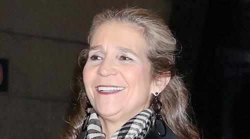 La Infanta Elena, una royal fan del ahorro: elige para comprar un hipermercado low cost