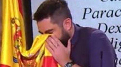 La Fiscalía pide que se archive la causa abierta a Dani Mateo por sonarse la nariz con la bandera de España