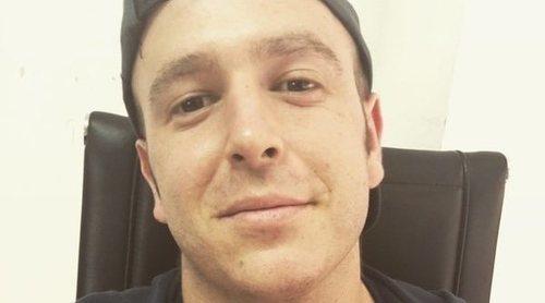 Álex Lequio, fumando y bebiendo entre amigos tras acabar su ciclo de quimioterapia
