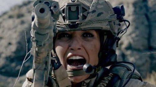 Paula Echevarría enseña sus 'heridas de guerra' tras el rodaje de 'Los Nuestros 2'