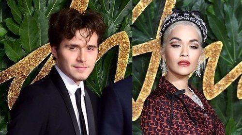 Rita Ora tuvo un coqueteo secreto con Brooklyn Beckham