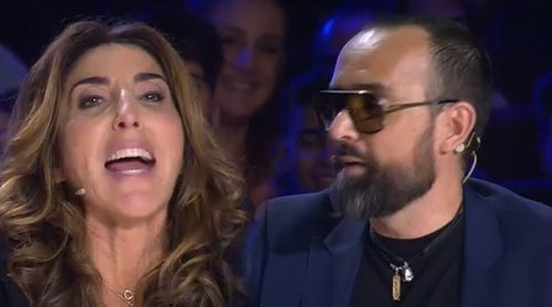 Primera reprimenda de Risto Mejide a Paz Padilla en 'Got Talent': 'Esto no es 'Sálvame''