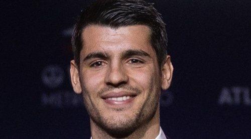 Álvaro Morata se convierte en el nuevo delantero de Atlético de Madrid ante a atenta mirada de su familia