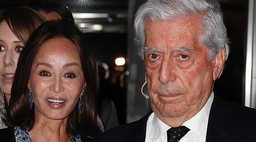 Isabel Preysler y Mario Vargas Llosa coinciden con Albert Rivera en la presentación de un libro