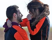 Asraf Beno y Chabelita Pantoja, como dos tortolitos en un día de aventura
