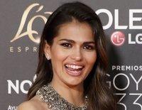 Sara Sálamo presume de embarazo en la alfombra roja de los Goya 2019