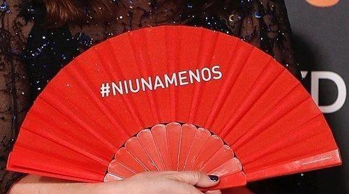 Los abanicos rojos pasan desapercibidos en los Premios Goya 2019