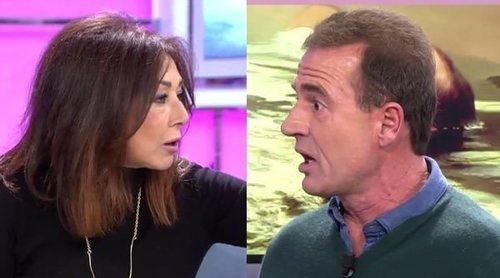 El enfado de Ana Rosa Quintana con Alessandro Lequio por Julio Ruz: 'Hay actitudes que no se pueden permitir'