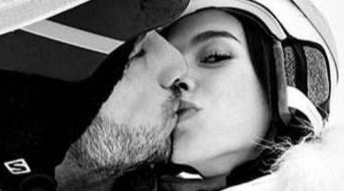 Feliciano López y Sandra Gago disfrutan de una escapada romántica en la nieve
