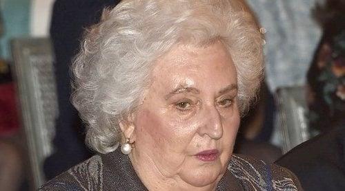 La Infanta Pilar, trasladada de Mallorca a Madrid para ser operada de urgencia
