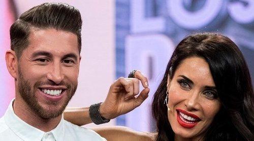 Sergio Ramos y Pilar Rubio desvelan el lugar y la fecha de su boda en 'El Hormiguero'