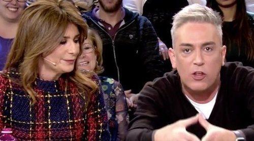 Gema López se encara con Kiko Hernández en defensa de Lydia Lozano