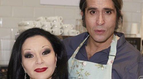 Mario Vaquerizo, muy recuperado junto a Alaska: