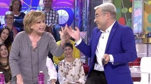 El ataque de Jorge Javier Vázquez a Mila Ximénez en 'Sálvame': 'A ti te eché dos meses'