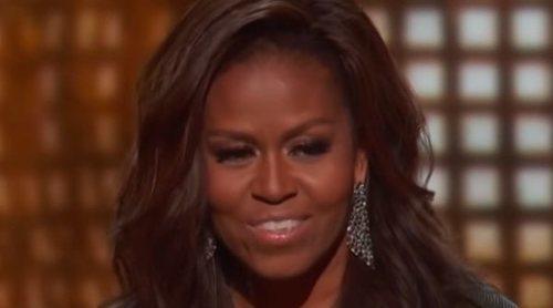 Michelle Obama, la estrella de los Grammy 2019: aparece por sorpresa y emociona con su discurso