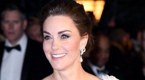 Kate Middleton luce los pendientes de Lady Di en los BAFTA 2019