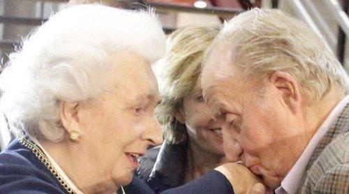 El Rey Juan Carlos, muy preocupado por la Infanta Pilar