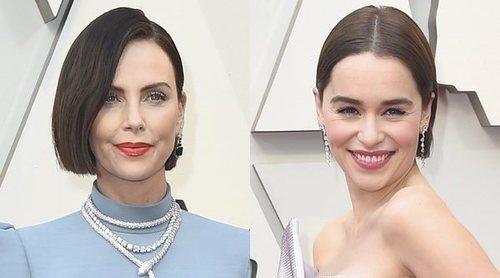 Emilia Clarke, Octavia Spencer y Charlize Theron, radiantes en la alfombra roja de los Oscar 2019