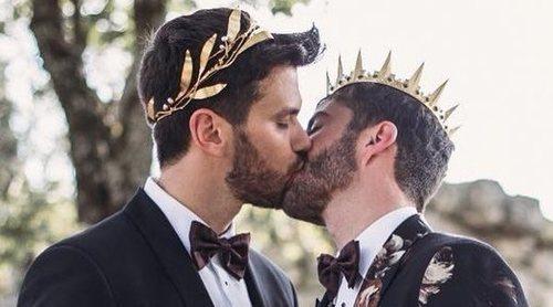 Tablada y Javier Ungría, Pelayo Diaz y Andy... así han celebrado los recién casados su primer San Valentín