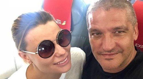 María Lapiedra y Gustavo González anuncian su ruptura a golpe de talonario