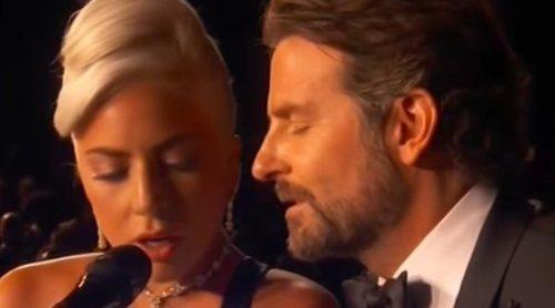 La increíble y mágica complicidad de Lady Gaga y Bradley Cooper cantando 'Shallow' en los Premios Oscar 2019