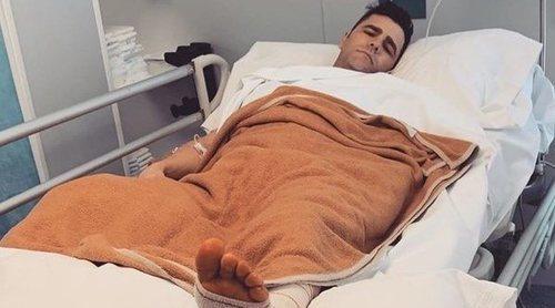 Fonsi Nieto vuelve a pasar por quirófano dos semanas después de su última intervención