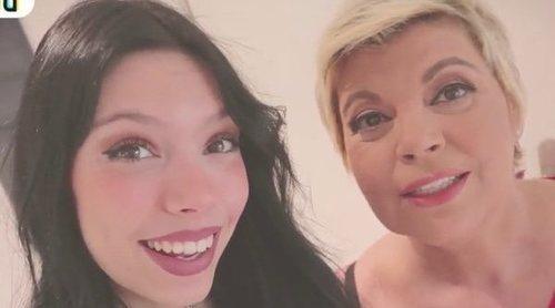 Alejandra Rubio entrevista a Terelu Campos en su canal: 'Menuda encerrona me has hecho'