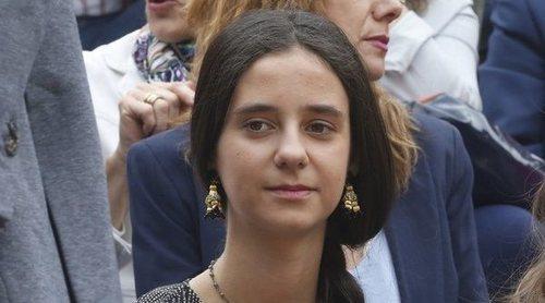 Victoria Federica, a escasos de centímetros de ser embestida por una vaquilla