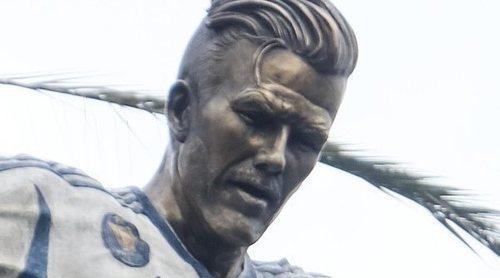 El homenaje de Los Angeles Galaxy a David Beckham por su trayectoria