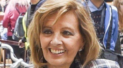 María Teresa Campos llama en directo a 'Sálvame' y explica por qué no acudió al acto de Bigote Arrocet