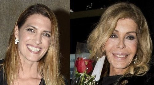 Laura Sánchez y Bibiana Fernández bromean con su nuevo parentesco