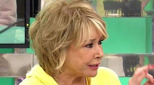 Mila Ximénez acusa en 'Sálvame' a Miriam Saavedra de utilizar lenguaje sexista: 'Nosotras no calentamos nada'