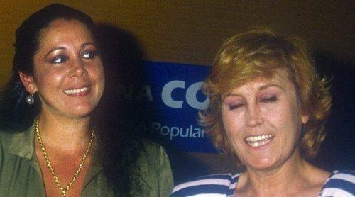 Desvelado el motivo que llevó a Encarna Sánchez a censurar sus imágenes junto a Isabel Pantoja