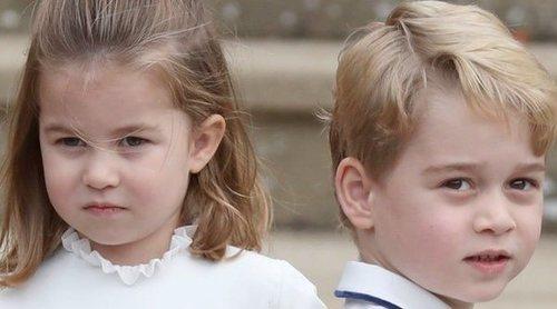 La polémica creada por la afición del Príncipe Jorge y la Princesa Carlota al tenis
