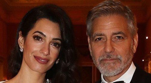 George y Amal Clooney, entre los invitados del Príncipe Carlos en su cena en el Palacio de Buckingham