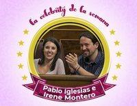 Pablo Iglesias e Irene Montero, celebrities de la semana porque serán padres por tercera vez