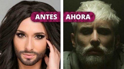 Así ha cambiado Conchita Wurst: Del alter ego de Tom Neuwirth que ganó Eurovisión 2014 a su renacer como WURST