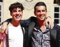 Mario y Óscar Casas triunfan en el Festival de Cine de Málaga 2019 en la presentación de 'Instinto'