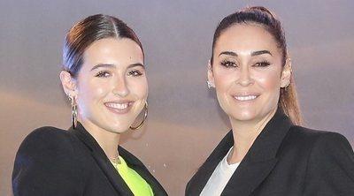 Vicky Martín Berrocal y Alba Díaz, resplandecientes y muy calladas en la fiesta de inauguración de 'Insparya'