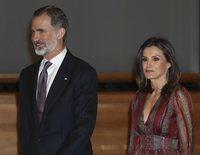Los Reyes Felipe y Letizia, acompañados por Matías Prats o Rosa Montero en los Premios Nacionales de Cultura