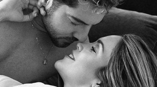 Las fotos más sensuales de Rosanna Zanetti con David Bisbal en la recta final de su embarazo
