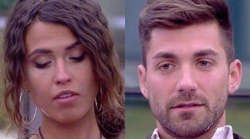Sofía Suescun y Alejandro Albalá, muy distantes tras la visita de sus familiares en 'GH DÚO'