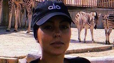 Georgina Rodríguez, muy enfadada tras filtrarse su visita al zoo de Madrid con sus hijos