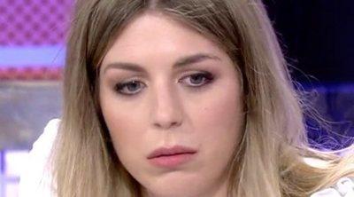 Marta, la hermana de Alejandro Albalá, se derrumba al ver a su padre en televisión