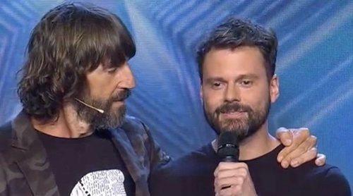 Risto Mejide se reencuentra con Daniel Zueras ('OT 2006') en 'Got Talent' y este se toma la revancha