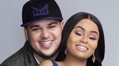 Rob Kardashian y Blac Chyna llegan a un acuerdo para la custodia de su hija Dream